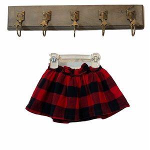 5/$20 Carter's Buffalo Plaid Skirt
